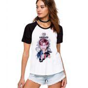 Camiseta Feminina Raglan BTS Bangtan Boys RM ES_160