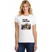 Camiseta Feminina T-Shirt Banda Now United Integrantes ES_212