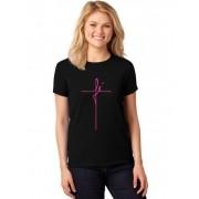 Camiseta Feminina T-Shirt Fé ER_103
