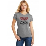 Camiseta Feminina T-Shirt Stranger Things 4 Temporada ES_209