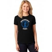 Camiseta Feminina T-Shirt Universitária Faculdade Engenharia Civil