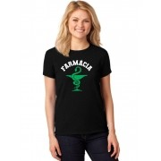 Camiseta Feminina T-Shirt Universitária Faculdade Farmácia