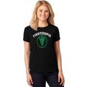 Camiseta Feminina T-Shirt Universitária Faculdade Fisioterapia