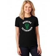 Camiseta Feminina T-Shirt Universitária Faculdade Medicina Veterinária