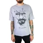 Camiseta Masc Braking Bad Heisenberg