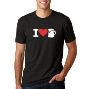 Camiseta Masc I Love Beer ER_019