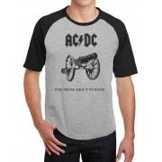 Camiseta Masc Raglan AC DC For Those About to Rock ES_001