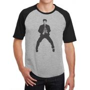 Camiseta Masc Raglan Elvis Presley ES_010