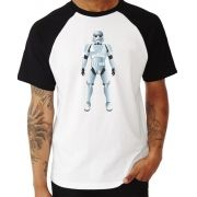 Camiseta Masc Raglan Star Wars Stormtrooper ES_075