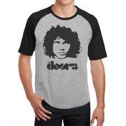 Camiseta Masc Raglan The Doors Jim Morrison ES_026