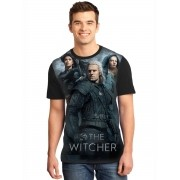 Camiseta Masculina Full Printed Série The Witcher FP_031