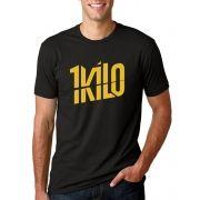 Camiseta Masculina Hip Hop 1Kilo Dourada ER_054