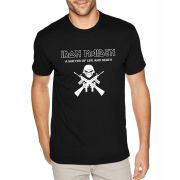 Camiseta Masculina Iron Maiden A Matter Of Life And Death ER_073