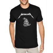 Camiseta Masculina Metallica Black Album ER_120