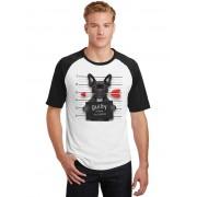 Camiseta Masculina Raglan Pets Bulldog Francês Guilty Of Love ES_195