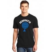 Camiseta Masculina Universitária Faculdade Geografia