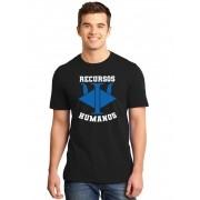 Camiseta Masculina Universitária Faculdade Recursos Humanos
