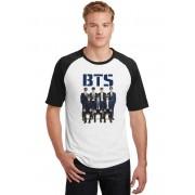Camiseta Raglan Masculina Kpop BTS Bangtan Boys ES_173