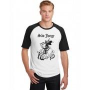 Camiseta Raglan Masculina Religiosa São Jorge ES_204
