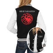 Jaqueta College Feminina Game Of Thrones House Targaryen ER_129