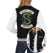 Jaqueta College Feminina Riverdale Southside Serpents Jughead ER_112