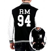 Jaqueta College Masculina Kpop BTS Integrantes RM 94 ER_106