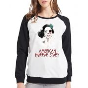 Moletom Raglan Feminino American Horror Story Freak Show ES_125