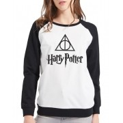 Moletom Raglan Feminino Harry Potter ES_091