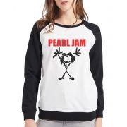 Moletom Raglan Feminino Pearl Jam ES_104