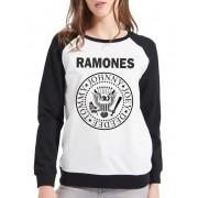 Moletom Raglan Feminino Ramones ES_068