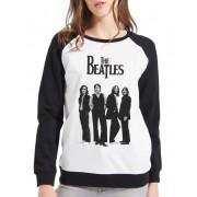 Moletom Raglan Feminino The Beatles ES_082