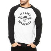Moletom Raglan Masculino Avenged Sevenfold Logo ES_023