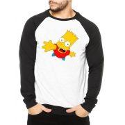 Moletom Raglan Masculino Bart Simpson ES_022