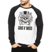 Moletom Raglan Masculino Guns n' Roses ES_024
