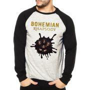 Moletom Raglan Masculino Mescla Banda Queen Bohemian Rhapsody ES_172