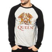 Moletom Raglan Masculino Mescla Banda Queen ES_170