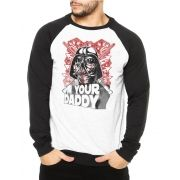 Moletom Raglan Masculino Star Wars Darth Vader - I'm Your Daddy ES_063
