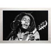 Quadro Decorativo Bob Marley MDF 50 x 35 M036