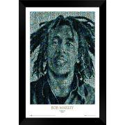 Quadro Decorativo Bob Marley MDF 50 x 35 M059