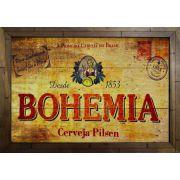 Quadro Decorativo Bohemia MDF 50 x 35cm B091