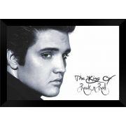 Quadro Decorativo Elvis Presley MDF 50 x 35 M019