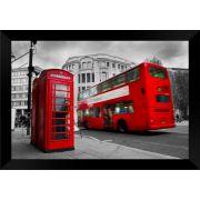 Quadro Decorativo Londres MDF 50 x 35 D045