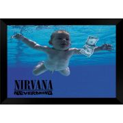 Quadro Decorativo Nirvana Nevermind MDF 50 x 35 M057