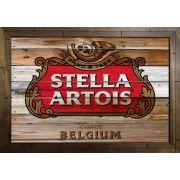Quadro Decorativo Stella Artois MDF 50 x 35 B096
