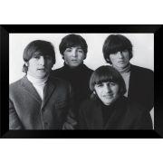 Quadro Decorativo The Beatles MDF 50 x 35 M009