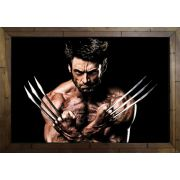 Quadro Decorativo Wolverine MDF 50 x 35 I037
