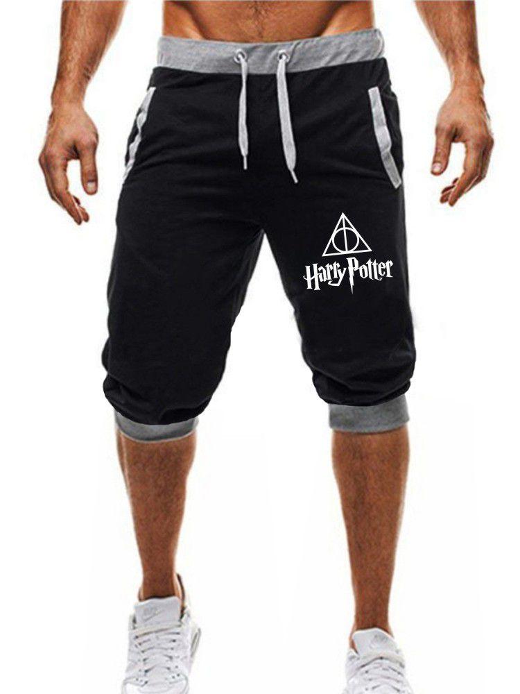 Bermuda Jogger Moletom Masculina 3/4 Harry Potter ER_038