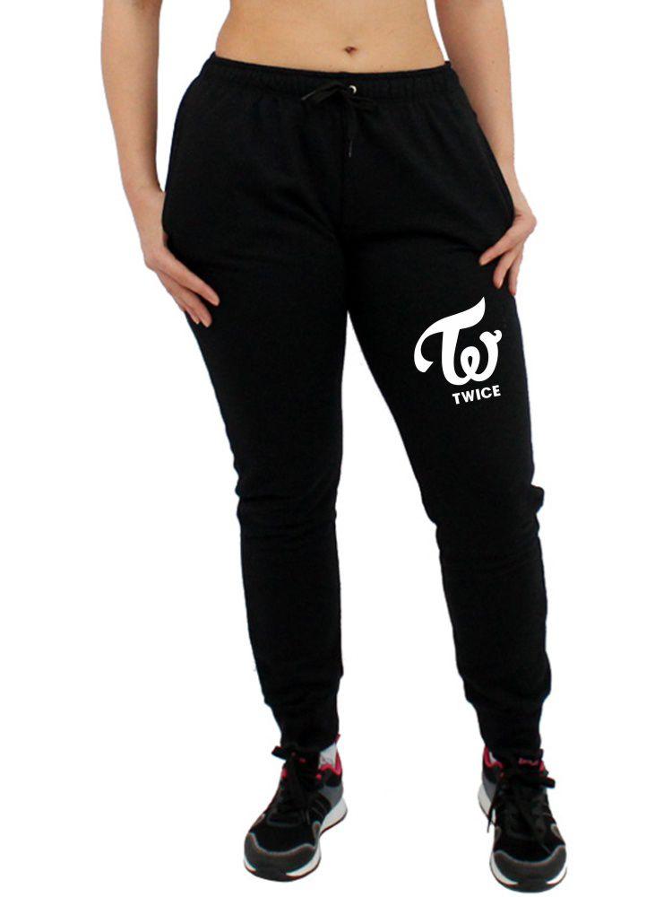Calça Moletom Feminina Jogger Kpop Twice ER_046