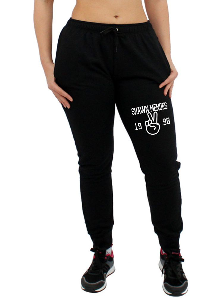 Calça Moletom Feminina Jogger Shawn Mendes ER_056