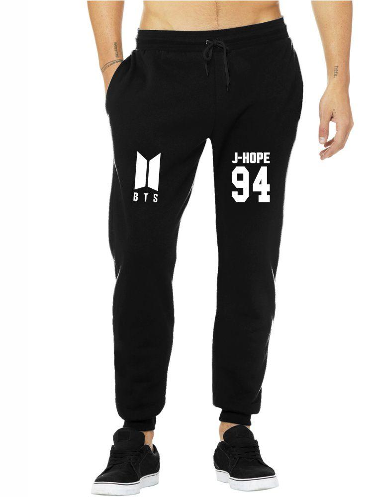 Calça Moletom Masculina Jogger Kpop BTS Integrantes J-Hope 94 ER_110